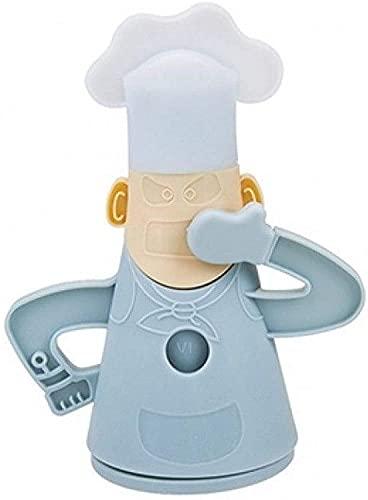 JJA Fridge Freshener, Odour Absorber, Fridge Deodoriser, Refrigerator Air Purifier Deodorant, Reusable Cool Chef Design Fridge Freshener