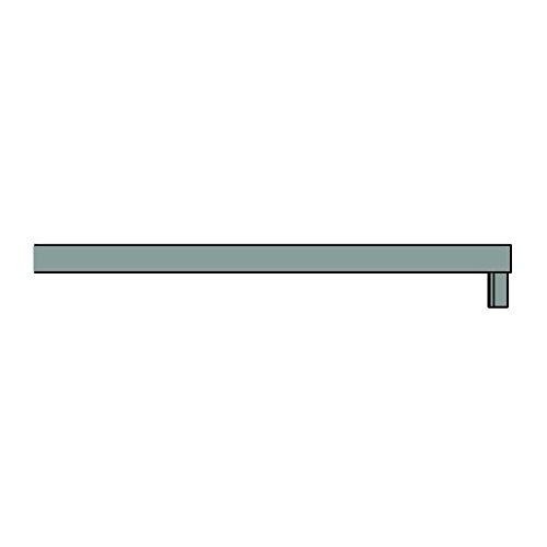 New Order Shelf Abdeckung, army dunkelgrün 100x34x2.3cm