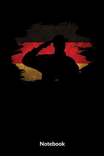 Mein Militär Notebook: A5 Liniertes Notizbuch für Soldaten der Bundeswehr! Als Geschenk zum Jahrestag, Valentinstag, Hochzeitstag oder Weihnachten