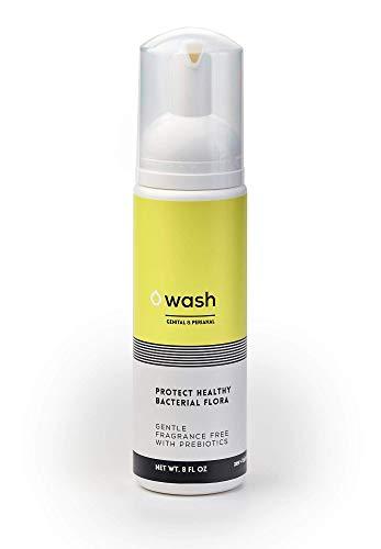 WASH: Fragrance-free, Unscented, Sulfate-free Intimate Foam Wash With Prebiotics. Naturally control body-odor.