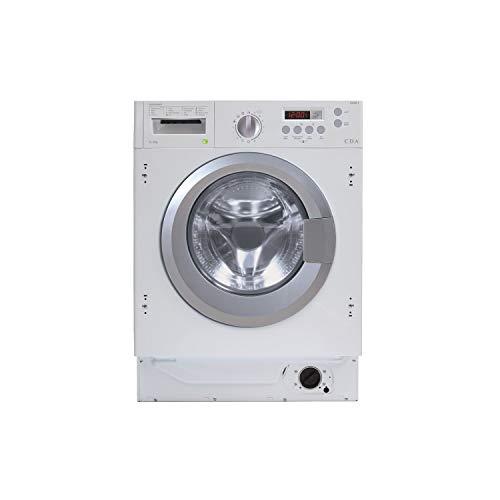 CDA CI981 8kg Wash 6kg Dry 1400rpm Integrated Washer Dryer - White