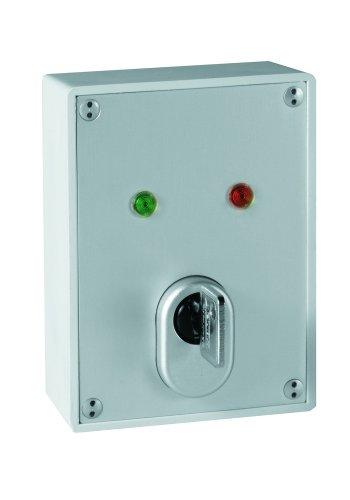 ABUS Schlüsselschalter SE1010 inkl. Qualitäts-Schließzylinder Kernziehschutz Aufputz Garagentoröffner
