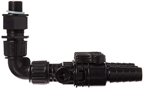 "Aquascape 88026 Ultra Pump Fittings, 3/4"", Black"