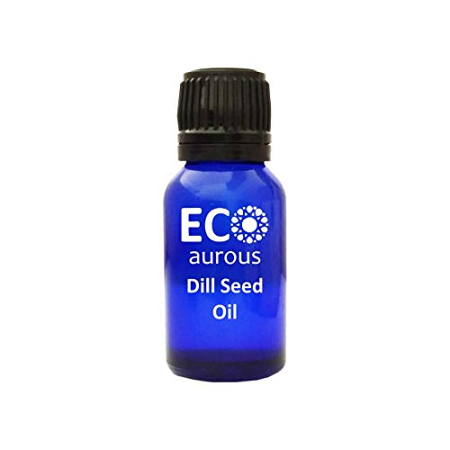Dill seed oil 100% natural organic Dill Seed essential oil | Pure Dill Oil | Dill Oil by Eco Aurous (10ml (0.33oz))