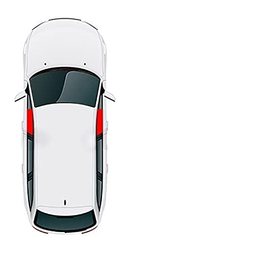 Parasol magnético para ventana de coche para BMW X6 E71 2008-2014 (color: 2 piezas delanteras)
