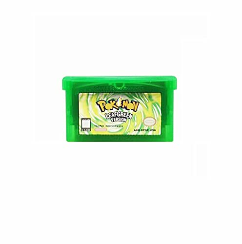 IIIHAT Pokemon-Leaf Green Version Game Cartridge US Version For GBA SP NDSL