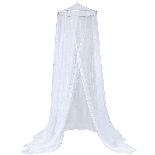 Anpro Mosquitero Mosquitero para cama 2.5mx12mx0.6m Mosquito repelente de insectos Agrained para la pierna doble