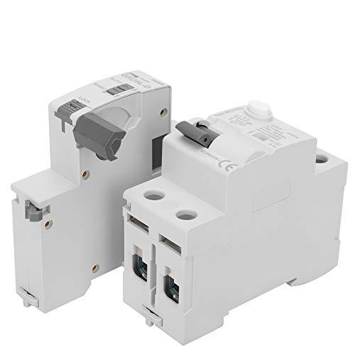 Jeanoko Dispositivo de protección contra sobretensiones 2P 230V Voltaje Protector contra sobretensiones Duradero para módulo de componentes electrónicos(63A)