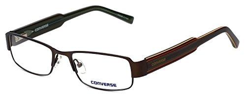 CONVERSE Montatura occhiali da vista HERE TO THERE Marrone 50MM