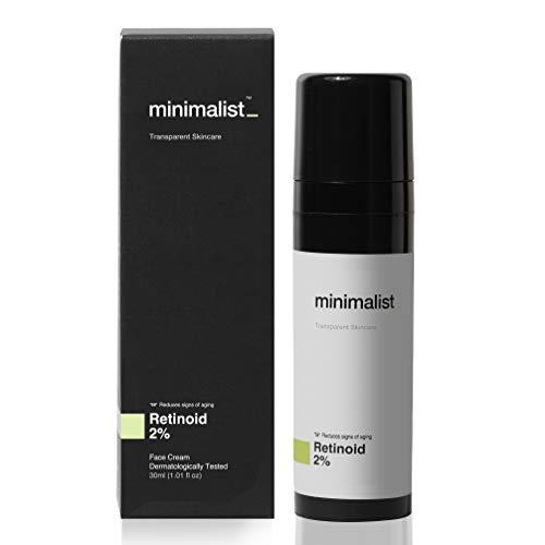 Minimalist 2% Retinoid Anti Aging Night Cream