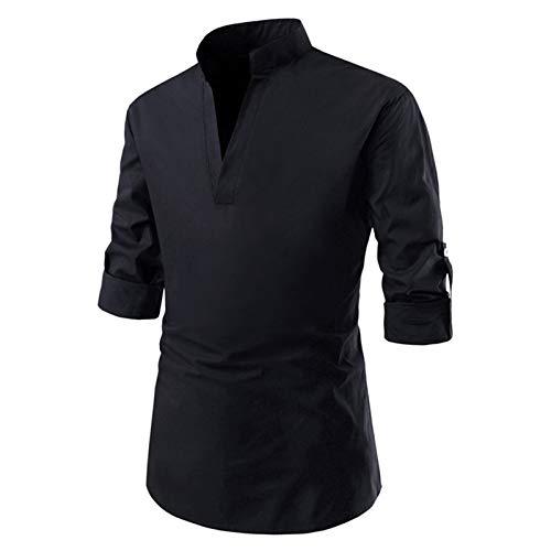 SSBZYES Camisetas para Hombre Camisetas De Manga Corta para Hombre Camisas De Media Manga Casuales para Hombre Talla Europea Camisas De Fondo para Hombre Tops para Hombre