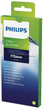 1 CONFEZIONE PASTIGLIE SGRASSANTI 6 PASTIGLIE PER PULIZIA MACCHINA CAFFE' AUTOMATICA E MANUALE SAECO 21002054, 21001883