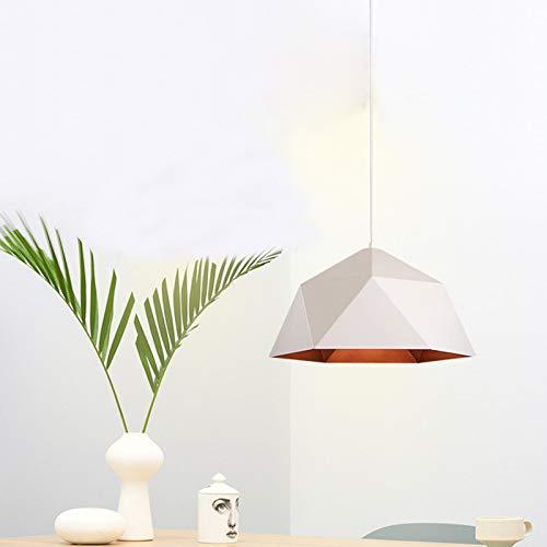 Kopgeometrie pot kroonluchter LED kroonluchter koffie restaurant industriële windreparatie oude kunst, smeedijzeren diamant kroonluchter creatieve plafondlamp binnenverlichting