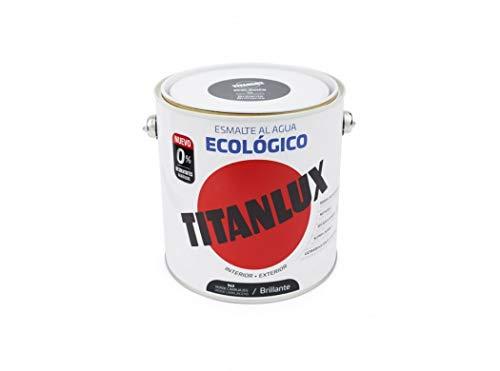Titanlux Esmalte Al Agua Titanlux Ecológico Brillante 2, 5 L, 562 Verde Carruajes
