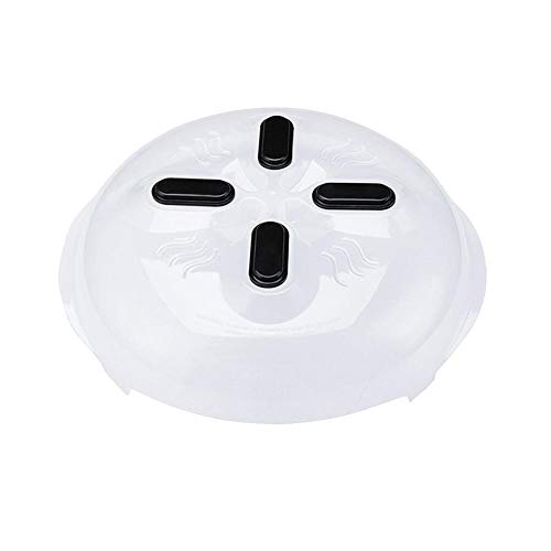 Cldkem Food Splatter Guard Microwave Hover Anti-Sputtering Cover with Steam Vents Anti-Sputtering Cover