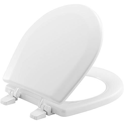 BEMIS TC50TTA 000 MARINE Toilet Seat, Durable Enameled Wood, White