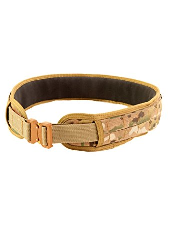 High Speed Gear Slim Grip Padded Belt Multicam Medium...