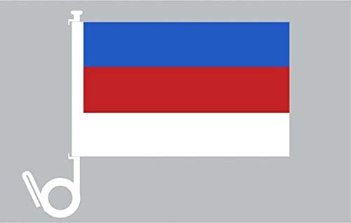 Everflag Auto-Fahne: Sorben - Premiumqualität