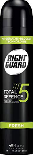 Right Guard Deospray Total Defence 5 Fresh, 6er Pack(6 x 250 ml)