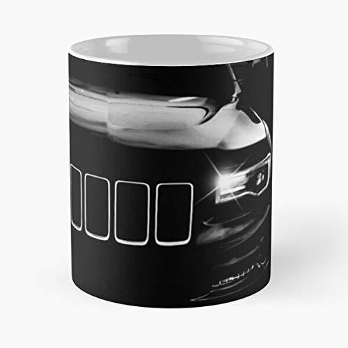 Cherokee Automobile Jeeplove Cars Grand Automotive Car Zj La Mejor Taza de café de cerámica de mármol Blanco de 11 oz