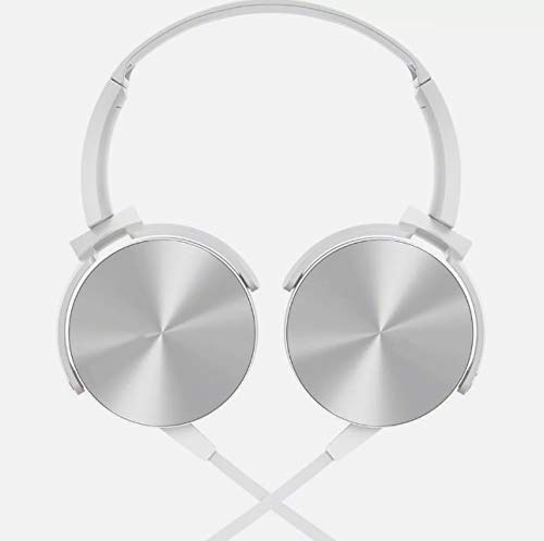 Fone De Ouvido Headphone Fone Ouvido Extra Bass Branco