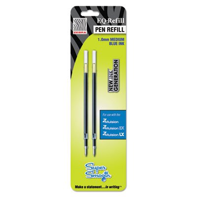 EQ Refill for Z-Mulsion EX Ballpoint Pen, Medium, Blue
