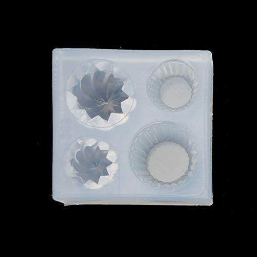 Silikonform Gießform Mini Kuchen Tasse FormenSchmuck Gießform Silikon UV Resin Mold für Handwerk DIY Schmuck Geschenk Machen