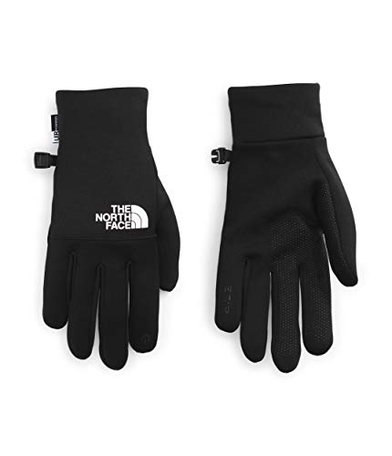 The North Face Etip - Guantes reciclados, color negro y blanco TNF, XXL