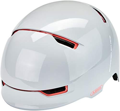 ABUS Scraper 3.0 ACE Stadthelm - Robuster Fahrradhelm für den Stadtverkehr - für Damen und Herren - 86969 - Grau/Orange, Größe M
