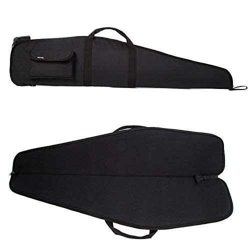 AUMTISC 52 Inch Rifle Case with Adjustable...