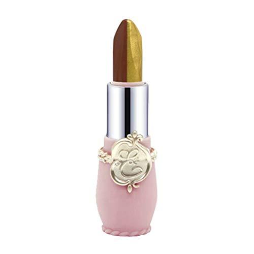 PinkLu Lippenstifte Der Lipgloss Von Double Color GläNzendem Zweifarbiges Blech Rotem High Sense Lippenstift