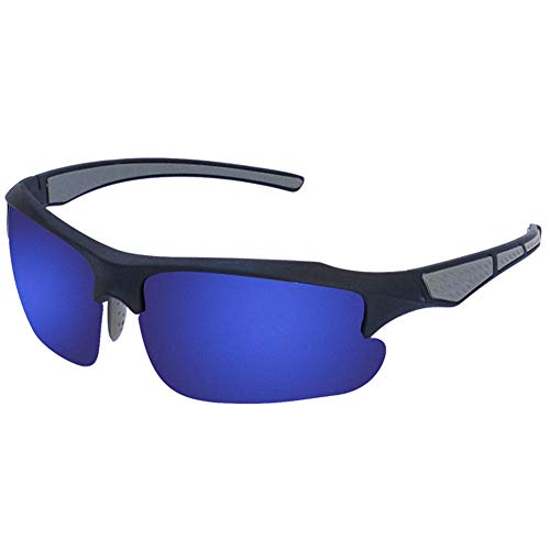 Gafas Sol Deportivas Polarizadas para Hombres Y Mujeres, Protección UV 400 Gafas Ciclismo, Bicicleta Montaña Moto, Golf Y Deportes Al Aire Libre,2
