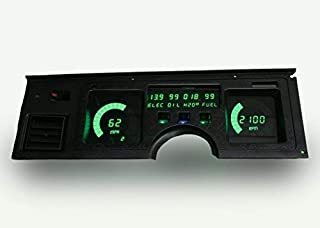 Intellitronix C4 Corvette 1984-1989 Digital Dash Gauge Instrument Cluster - Direct Fit Solution - Long-Lasting Bright Green LEDs - USA Made Quality Upgrade