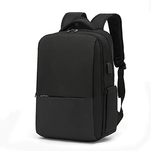 Laptop backpack, portable laptop bag with USB charging port, business backpack, school backpack gift for men and women, can hold 15.6-inch laptop