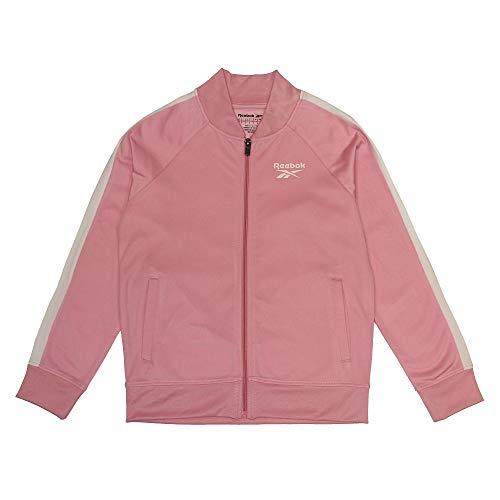 Reebok Jungen Chaqueta Big Tricot Track Weste, Pink, L