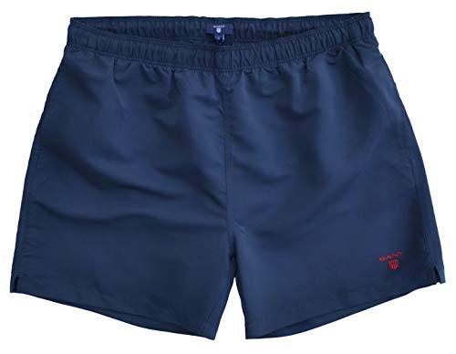 GANT Badeshort Basic Swim Shorts Blau Navy (M)
