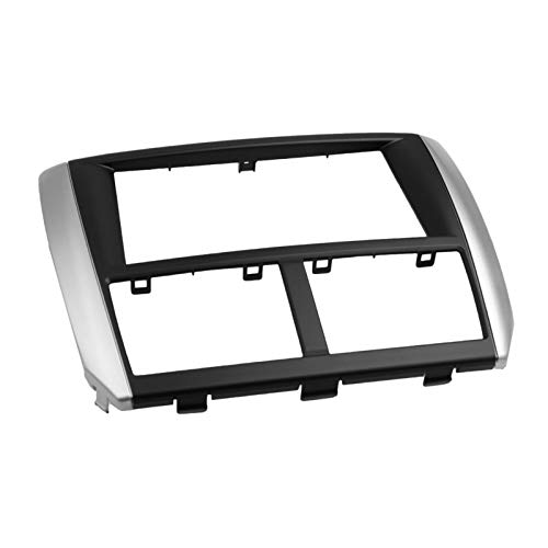 FangFang Coche Radio Fascia Fit for Subaru Forester 2008-2012 Impreza 2007-2012 Panel estéreo Dash CD Kit de instalación Frame