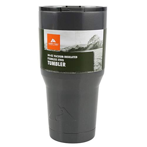 Gun Metal Gray - Ozark Trail 30-Ounce Double-Wall, Vacuum-Sealed Tumbler (Standard version)