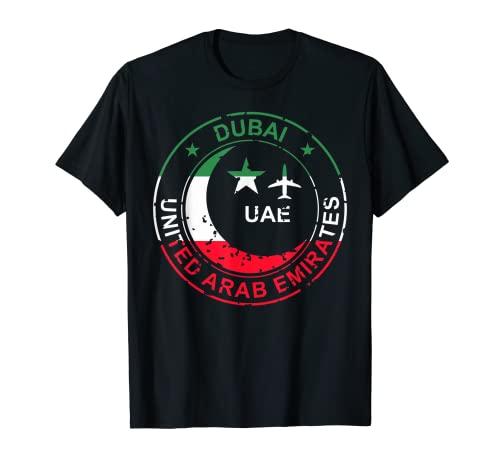 Pasaporte de los Emiratos Árabes Unidos de Dubai para Camiseta