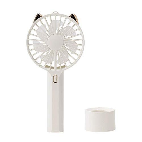 UMTGE Ventilador de mesa portátil silencioso ventilador de mesa con clip eléctrico...