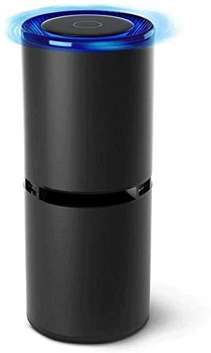 YAYY Air Purifier Draagbare Negatieve Ion Generator Ionizer voor Auto Kleine Kamer Keuken Home Office Desktop om te verwijderen Rook Stof PM2 5 Allergieën Kiemen (Upgrade)