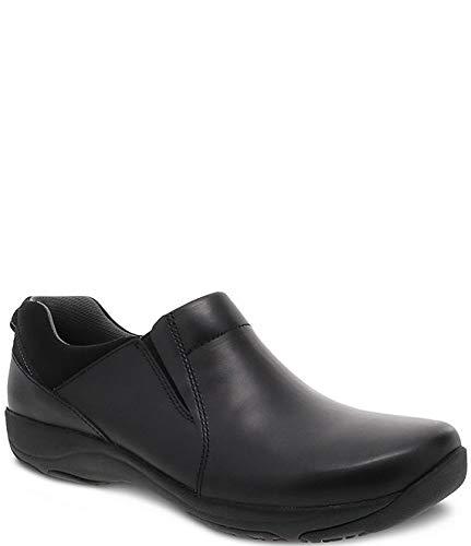 [ダンスコ] シューズ 25.0 cm スリッポン・ローファー Neci Leather Slip Ons Black Leat レディース [並行輸入品]