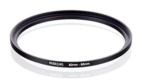 Step Up 82-86 mm anillo adaptador 82 mm - 86 mm adaptador anillo 82 mm 86 mm 82 86 mm objetivo objetivo objetivo compatible con Nikon Canon Fujifilm Sony Olympus Panasonic Sigma Tamron Tokina