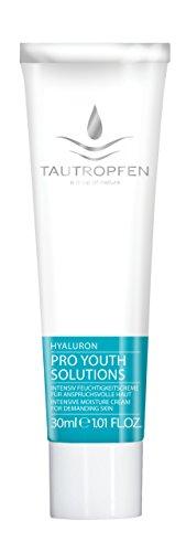 Tautropfen Pro Youth/Hyaluron, Intensiv Feuchtigkeitscreme für anspruchsvolle Haut, 30 ml