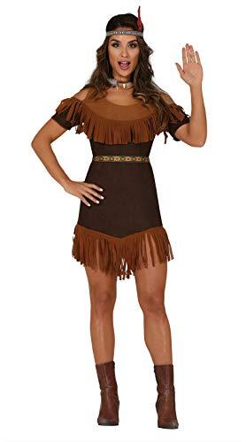 Fiestas Guirca Costume Donna Indiana Nativa d'America Taglia l