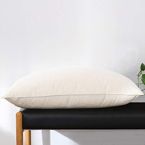 Alanzimo Goose Feather and Down Pillow