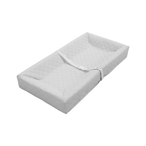 Best Buy! LA Baby 4 Sided Changing Pad, White, 32 by LA Baby
