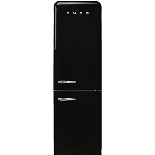 Smeg FAB32RBL3 nevera y congelador Independiente Negro 331 L A+++ - Frigorífico (331 L, SN-T, 5 kg/24h, A+++, Compartimiento de zona fresca, Negro)