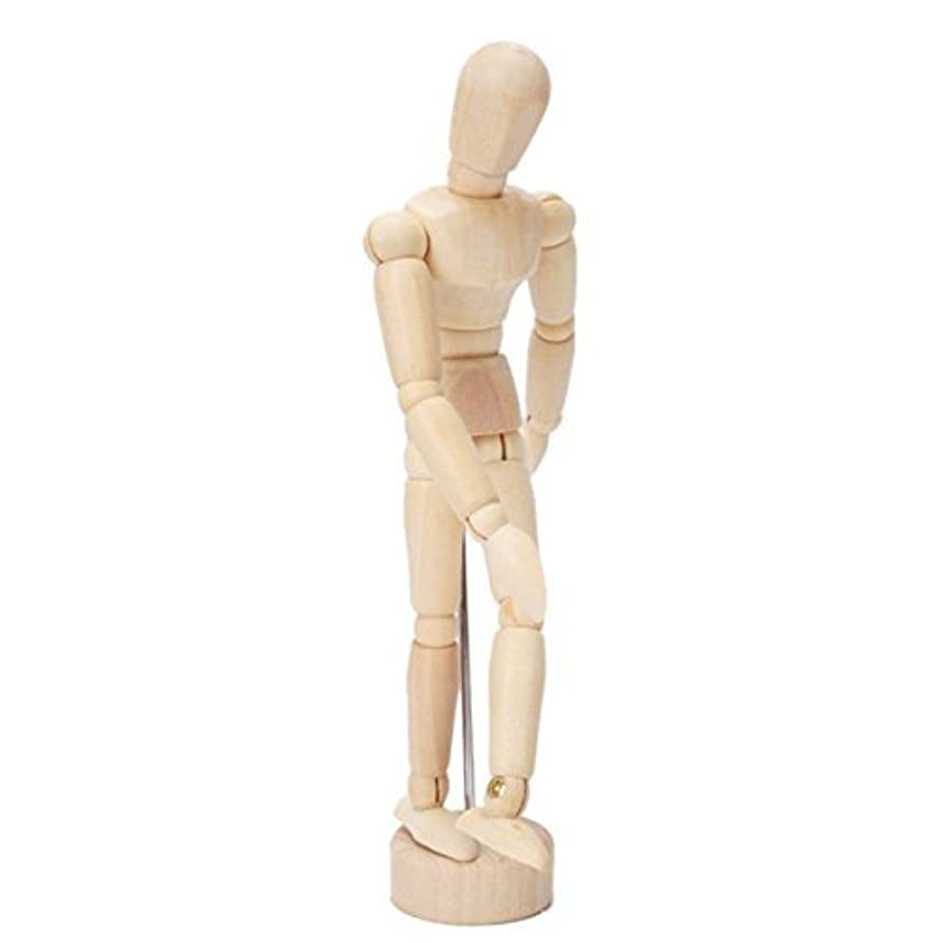 Wooden Human Mini Mannequin (5.5 inches Tall)