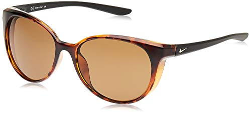 Nike CT8234-220 Essence - Gafas de sol (marco de tortuga), color marrón